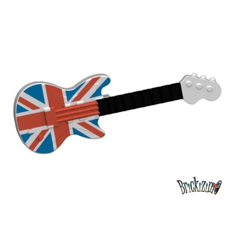 Elektrische Gitaar - Union Jack