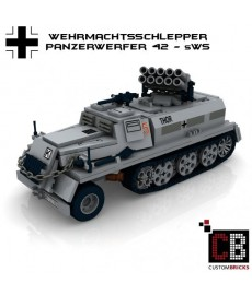 Wehrmachtsschlepper with Panzerwerfer 42 - Building instructions