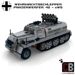 Wehrmachtsschlepper mit Panzerwerfer 42 - Bauanleitung