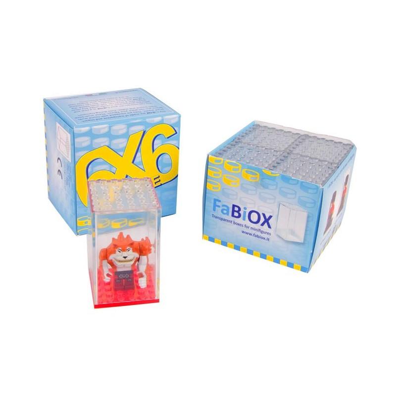 4x 6x6 FaBiOX Minifiguren Display Box
