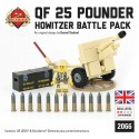 QF 25-Pounder Howitzer Battle Pack