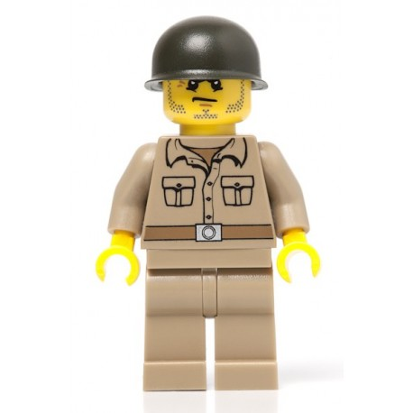 U.S. Private Soldier - dark tan