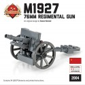 M1927 76mm regiments Kanone