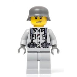 Deutsch Infanterie Soldat mit Rucksack