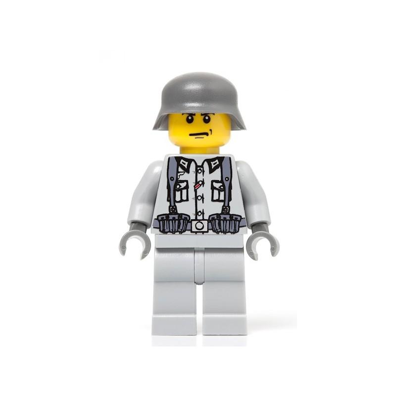 Duitse Infanterie Soldaat met rugzak