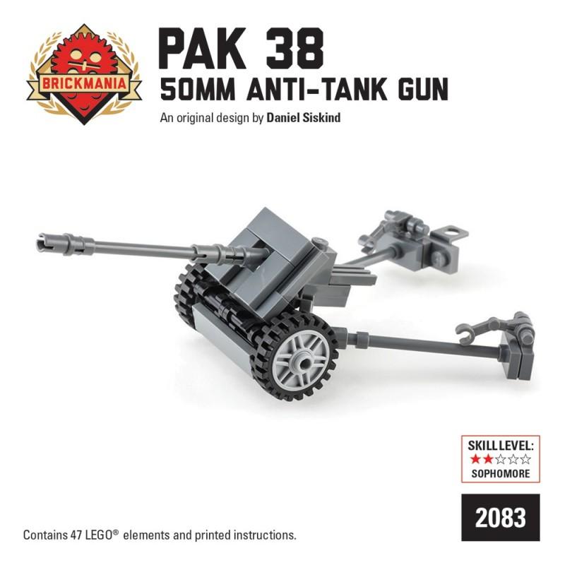 BrickMania - Pak 38 5cm Antitank Gun