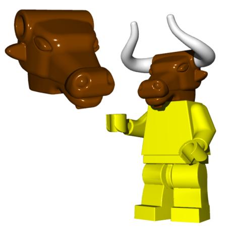 Minotaur Kopf