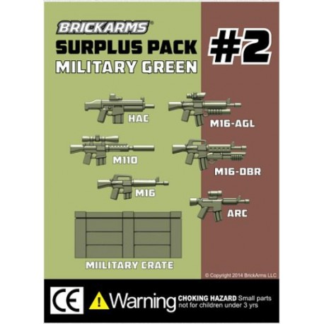 BrickArms Surplus Pack 2