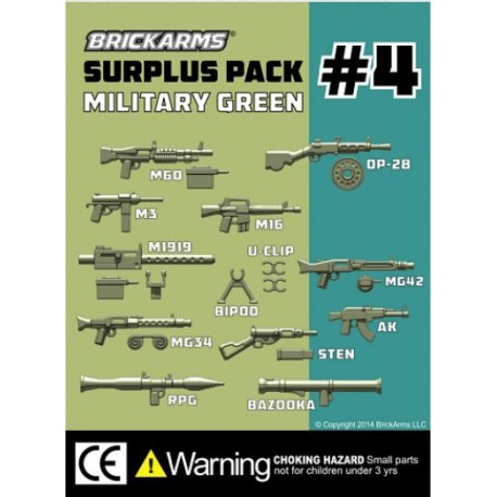 BrickArms Surplus Pack 4