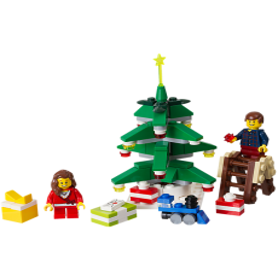 LEGO ® Weihnachtsbaum schmücken