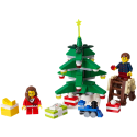 LEGO ® Decorating the Christmas Tree