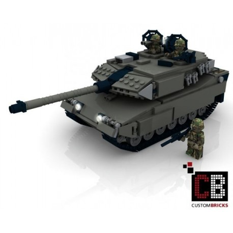 Panzer Leopard 2A6 - Building Instruction