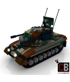 Panzer Gepard 1A2 CAMO - Building Instruction