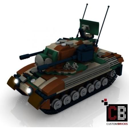 Panzer Gepard 1A2 CAMO - Bouwinstructies