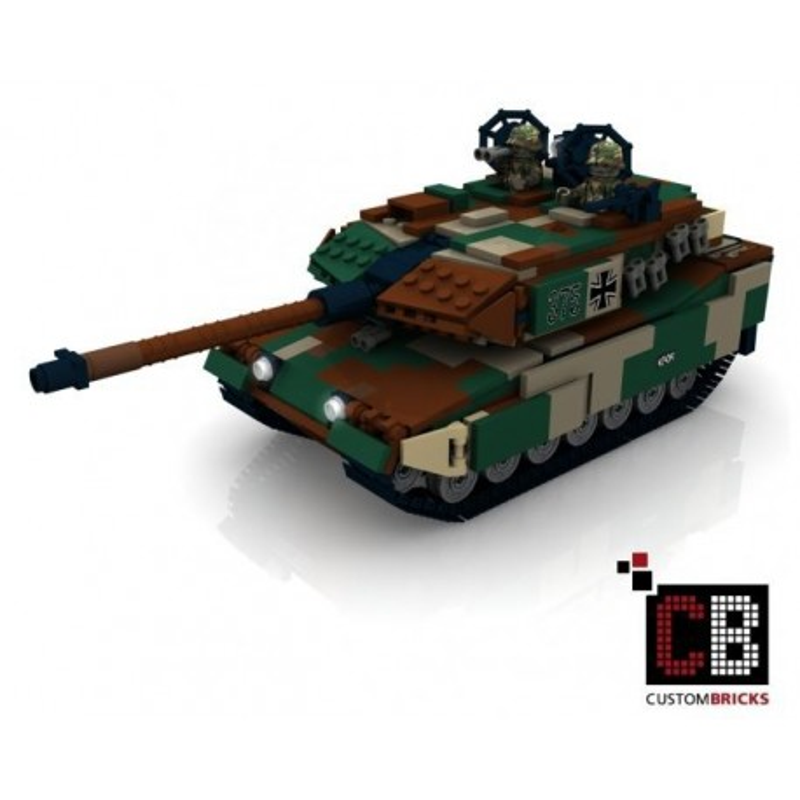 Panzer Leopard 2A6 CAMO - Bouwinstructies