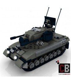 Panzer Gepard 1A2 - Building Instruction
