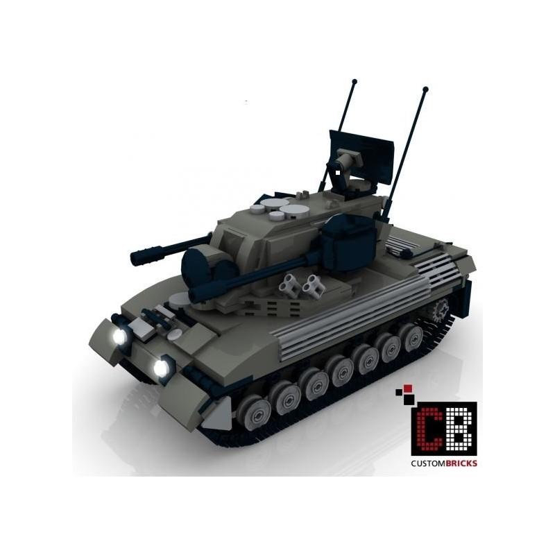Panzer Gepard 1A2 - Bauanleitung