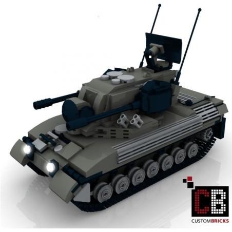 Panzer Gepard 1A2 - Bouwinstructies