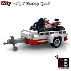 ATV Tuning Quad met trailer