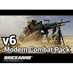 BrickArms Modern Combat Pack v6