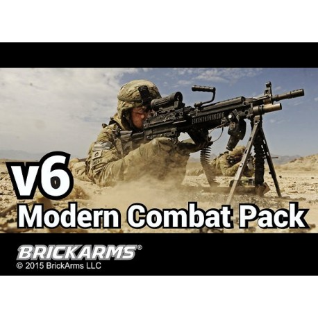 BrickArms Modern Combat Pack v6