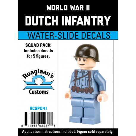 WW2 - Dutch Infantry - Decal