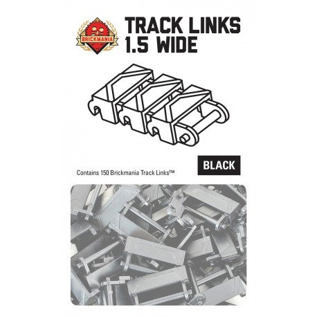 Track Links- 150x Anderthalb breit