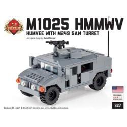 HMMWV M1025 with M249 SAW