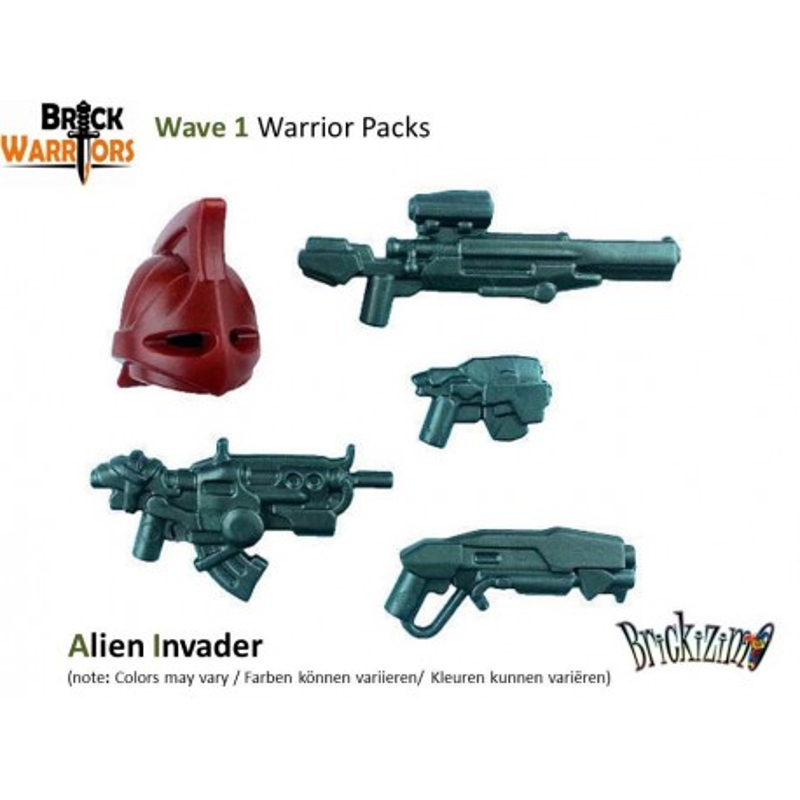 Warrior Pack - Alien Invader