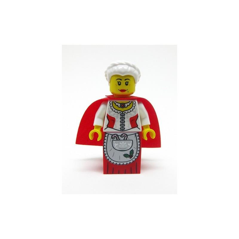 Vrouw van de kerstman
