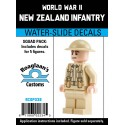 WW2 - New Zealand Infantry - Decal