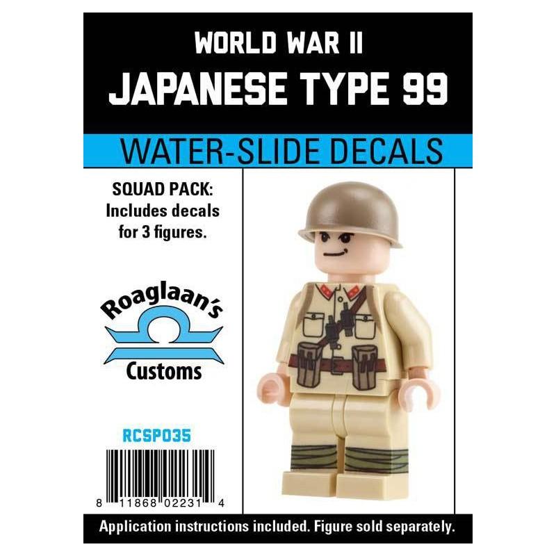 WW2 - Japanese Type 99 - Decal