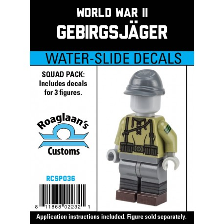 WW2 - Gebirgsjäger - Decal