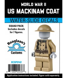 WW2 - Mackinaw Coat - Decal