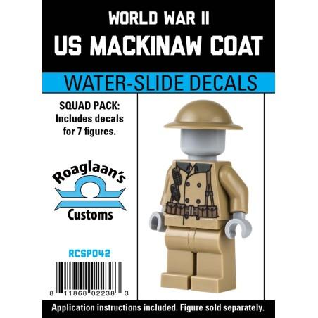 WW2 - Mackinaw Coat - Decal