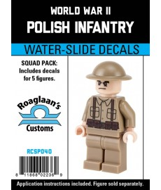 WW2 - Polish Infantry - Decal