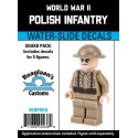 WW2 - Poolse Infanterie - Decal