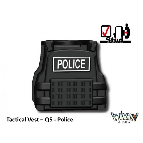 Tactical Weste - Q5 - Police