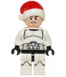 Clone Trooper with Santa hat