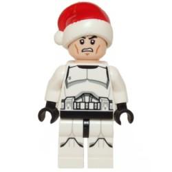 Clone Trooper mit Weihnachtsmütze