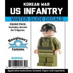 Korea - US Infanterie - Decal