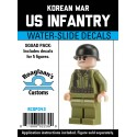 Korea - US Infantry - Decal