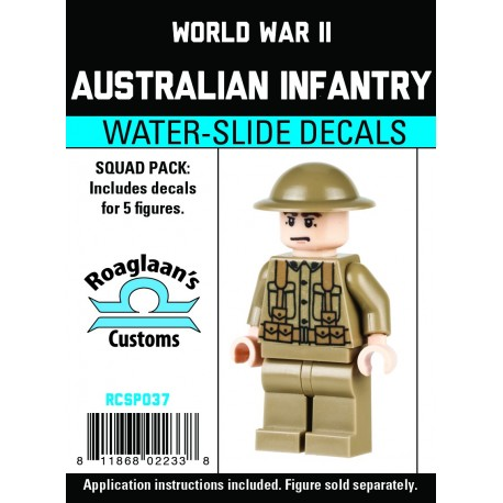 WW2 - Australian Infantry - Decal