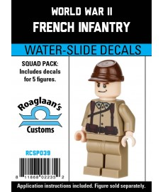 WW2 - French Infantry - Decal