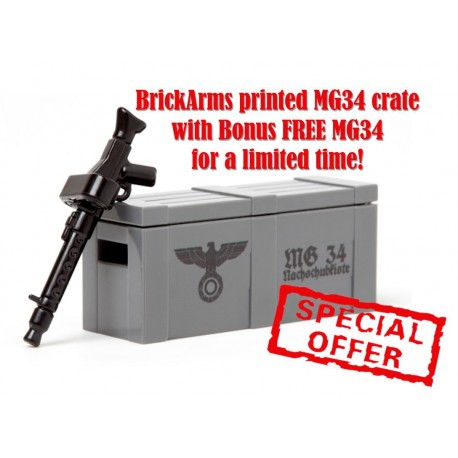 BrickArms Crate MG34