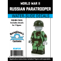 WW2 - Russian Paratrooper - Decal