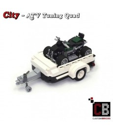 ATV Tuning Quad with trailer