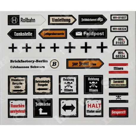 WW2 - German Sticker Set 1