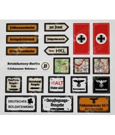 WW2 - German Sticker Set 2