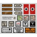 WW2 - Stickervel - Set 2